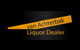 Logo: van Achterbak Liquor Dealer