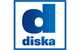 Logo: diska