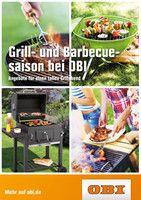 Aktueller OBI Prospekt, Grill- und Barbecuesaison bei OBI, Seite 1