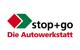 Logo: stop+go